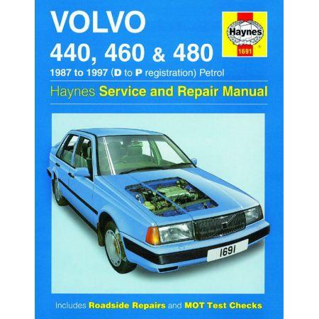 440 460 480 Petrol D to P 87-97 Revue technique Haynes VOLVO Anglais