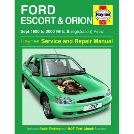 Escort Orion Petrol H to X 90-00 Revue technique Haynes FORD Anglais