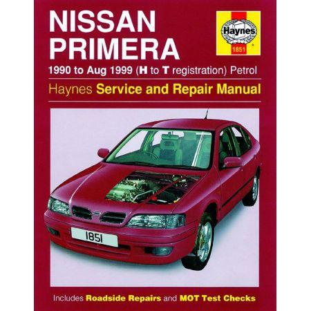 Primera Petrol 90-99 Revue technique Haynes NISSAN Anglais