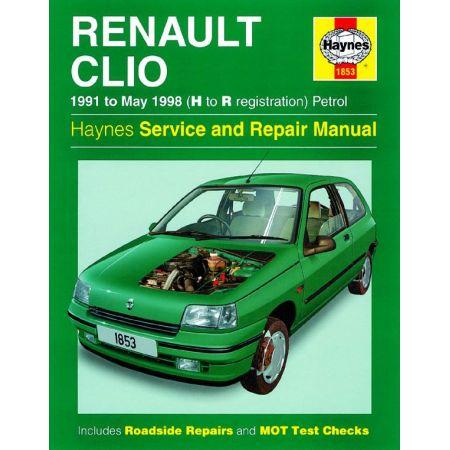 Clio Petrol H to R 91-98 Revue technique Haynes RENAULT Anglais