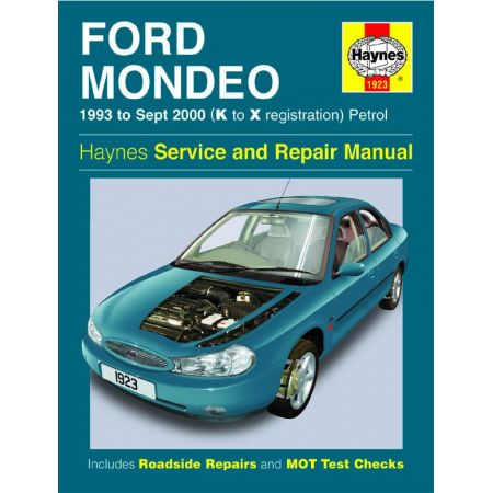 Mondeo Petrol K to X 93-00 Revue technique Haynes FORD Anglais