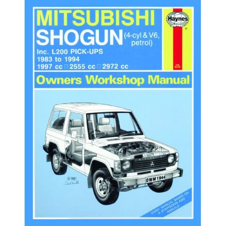Shogun L200 Pick- 83-94 Revue technique Haynes MITSUBISHI Anglais