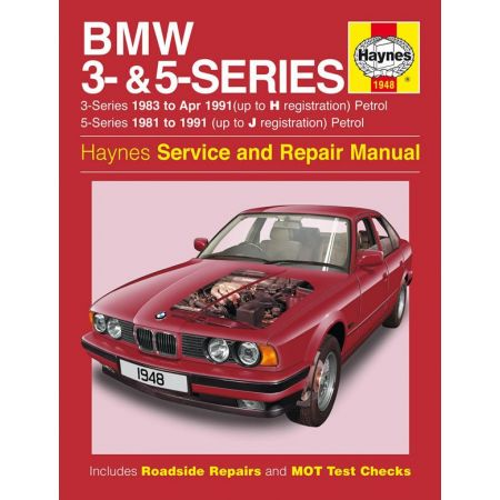 Series 3- 5-Petrol up to J 81-91 Revue technique Haynes BMW Anglais
