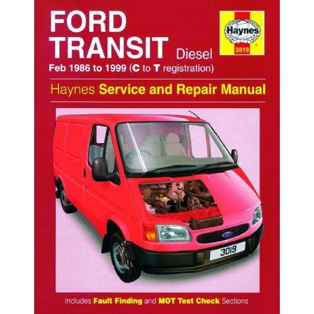 Transit Die 86-99 Revue technique Haynes FORD Anglais