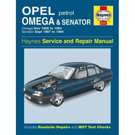Omega Senator Petrol 86-94 Revue technique Haynes OPEL Anglais