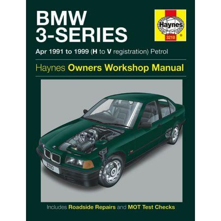 Series 3 Petrol 91-99 Revue technique Haynes BMW Anglais