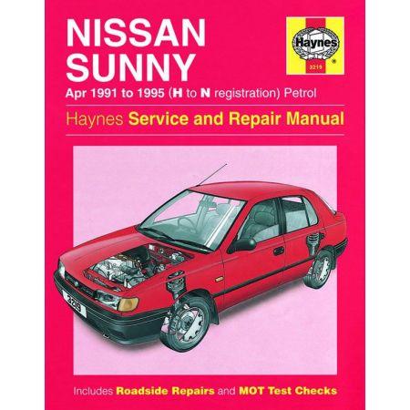 Sunny Petrol 91-95 Revue technique Haynes NISSAN Anglais
