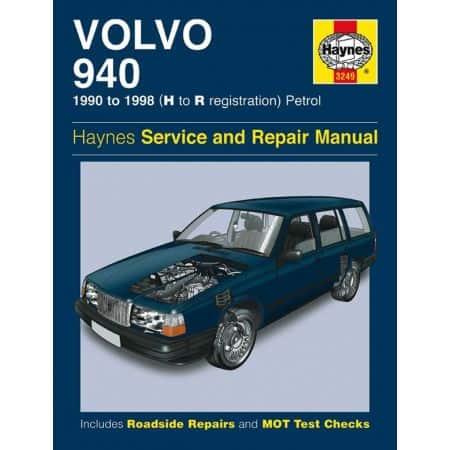 940 Petrol 90-98 Revue technique Haynes VOLVO Anglais