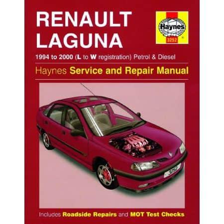 Laguna Petrol Die L to W 94-00 Revue technique Haynes RENAULT Anglais