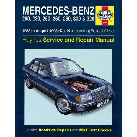 124 Series 85-93 Revue technique Haynes MERCEDES Anglais