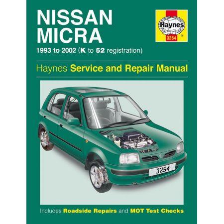 Micra 93-02 Revue technique Haynes NISSAN Anglais