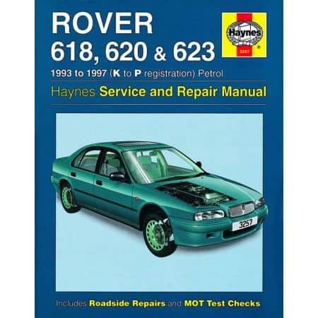618 620 623 Petrol 93-97 Revue technique Haynes ROVER Anglais