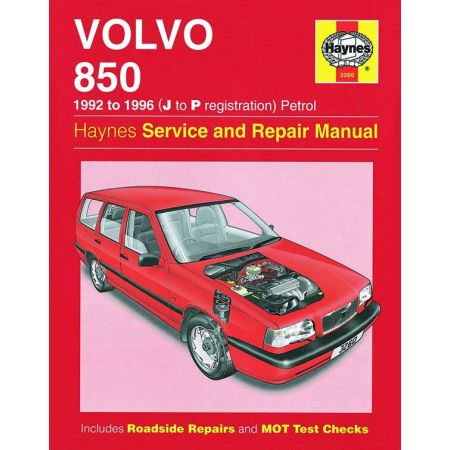 850 Petrol J to P 92-96 Revue technique Haynes VOLVO Anglais