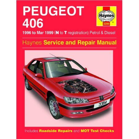 406 96-99 Revue technique Haynes PEUGEOT Anglais