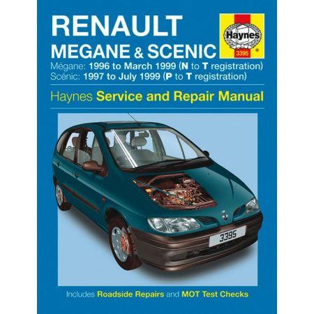 Megane Scenic 96-99 Revue technique Haynes RENAULT Anglais