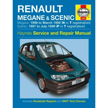 Megane Scenic Petrol Diesel N to T 96-99 Revue technique Haynes RENAULT Anglais