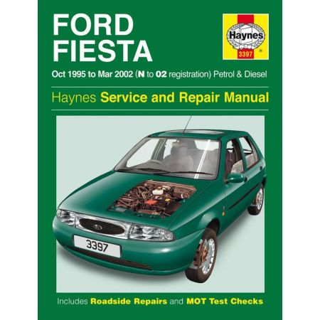 Fiesta Petrol Diesel N to 02 95-02 Revue technique Haynes FORD Anglais