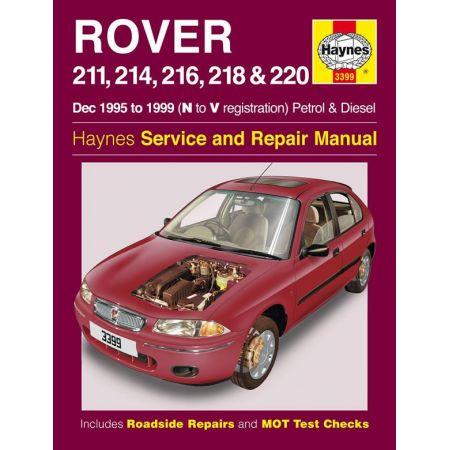211 214 216 218 220 95-99 Revue technique Haynes ROVER Anglais