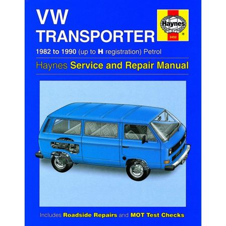 Transporter water-cooled Petrol 82-90 Revue technique Haynes VW Anglais