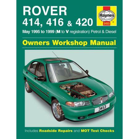 414 416 420 95-99 Revue technique Haynes ROVER Anglais