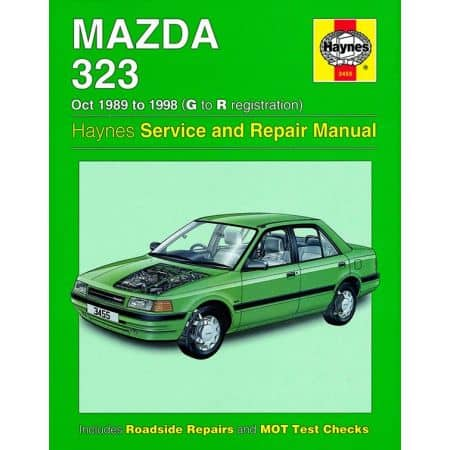 323 G to R 89-98 Revue technique Haynes MAZDA Anglais