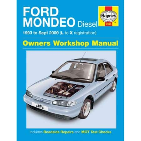 Mondeo Diesel L to X 93-00 Revue technique Haynes FORD Anglais