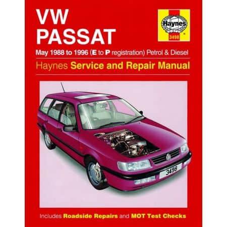 Passat 4-cyl Petrol Diesel 88-96 Revue technique Haynes VW Anglais