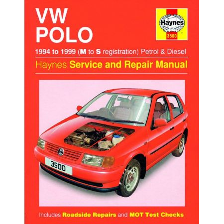 Polo Hatchback 94-99 Revue technique Haynes VW Anglais