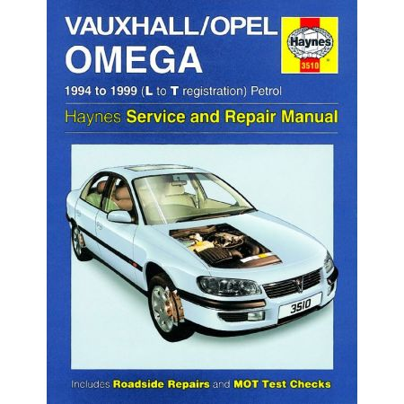 Omega Petrol L to T 94-99 Revue technique Haynes OPEL VAUXHALL Anglais
