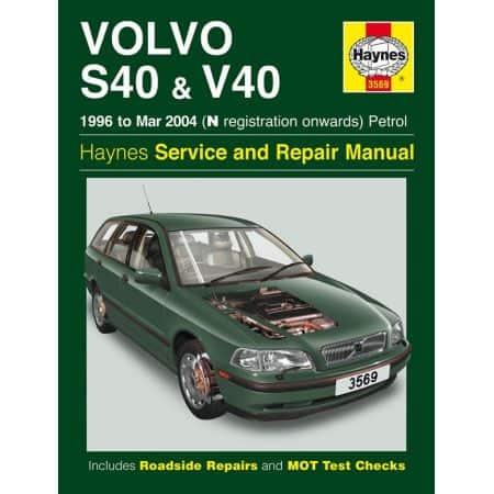 S40 V40 Petrol 04 96-04 Revue technique Haynes VOLVO Anglais