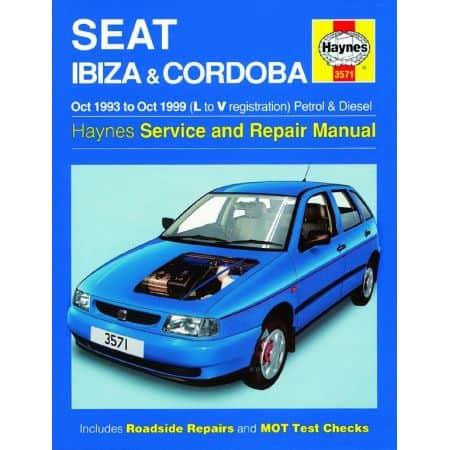 Ibiza Cordoba 93-99 Revue technique Haynes SEAT Anglais