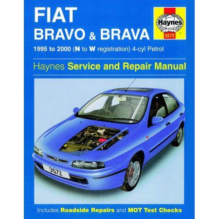 Bravo Brava Petrol N to W 95-00 Revue technique Haynes FIAT Anglais