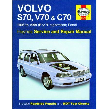S70 V70 C70 Petrol P to V 96-99 Revue technique Haynes VOLVO Anglais