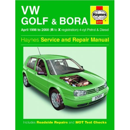 Golf Bora 98-00 Revue technique Haynes VW Anglais