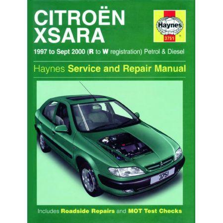 Xsara Essence Diesel 97-00 Revue technique Haynes CITROEN Anglais