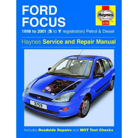 Focus Petrol Diesel S to Y 98-01 Revue technique Haynes FORD Anglais