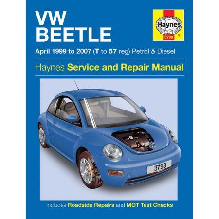 Beetle 99-07 Revue technique Haynes VW Anglais