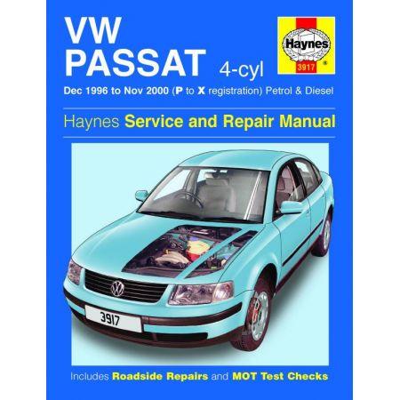 Passat 4-cyl 96-00 Revue technique Haynes VW Anglais