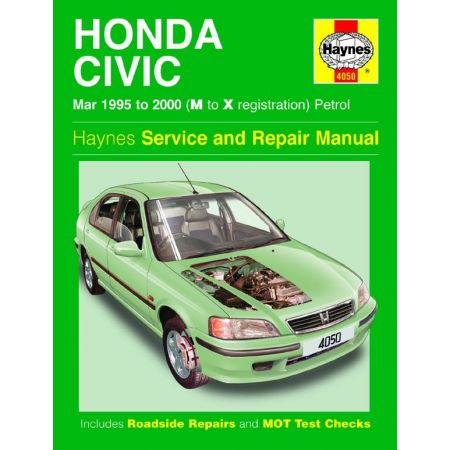 Civic Petrol 95-00 Revue technique Haynes HONDA Anglais