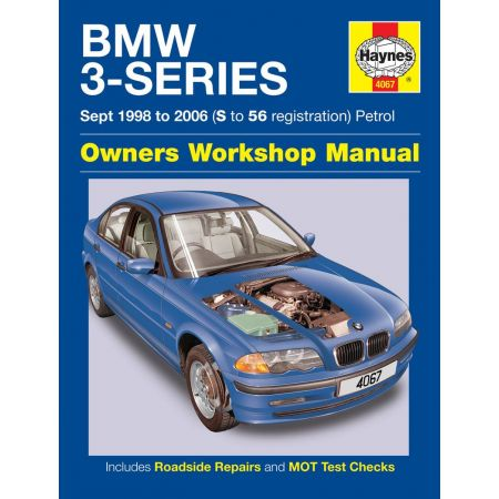 3-Series Petrol S to 56 98-06 Revue technique Haynes BMW Anglais