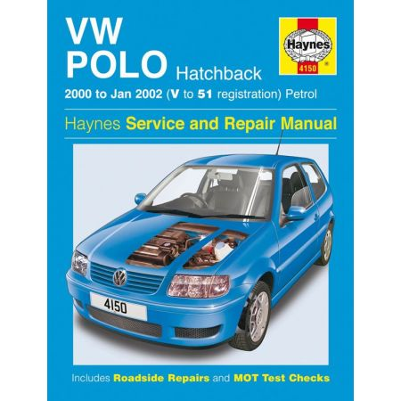 Polo Hatchback Petrol 00-02 Revue technique Haynes VW Anglais