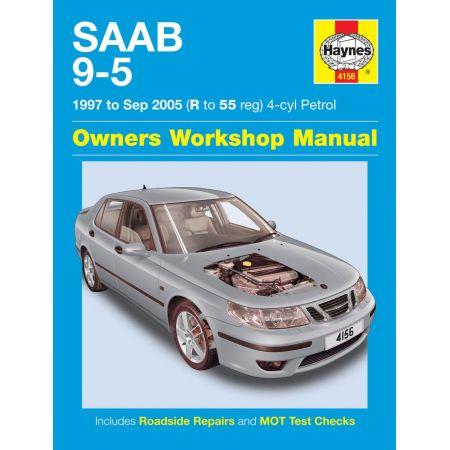 9-5 Petrol R to 55 97-05 Revue technique Haynes SAAB Anglais