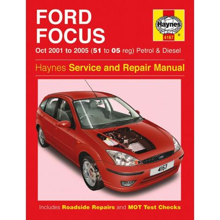 Focus Petrol Diesel 51 to 05 01-05 Revue technique Haynes FORD Anglais