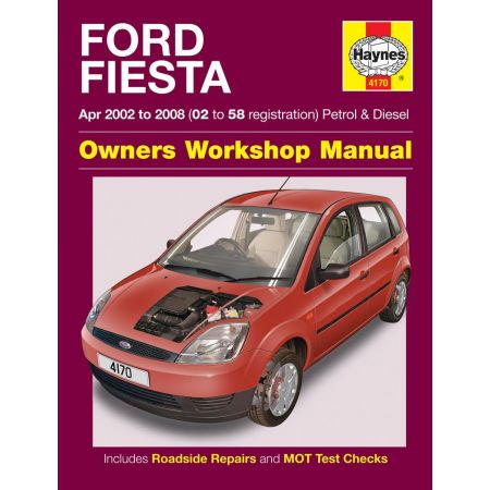 Fiesta Petrol Diesel 02 to 58 02-08 Revue technique Haynes FORD Anglais