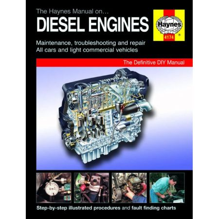Manual on Die Engines Revue technique Haynes Anglais