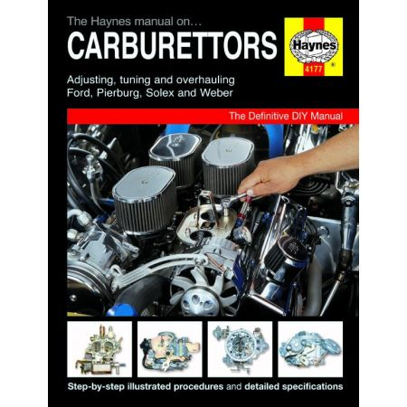 Manual on Carburettors Revue technique Haynes Anglais