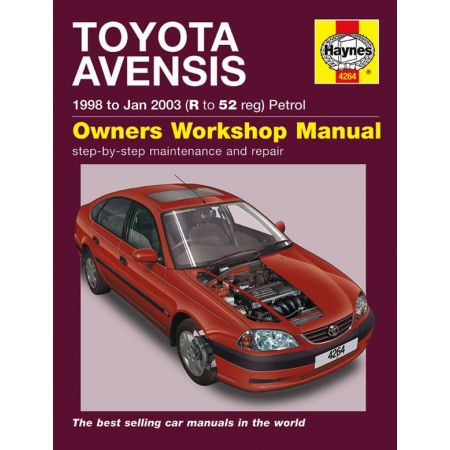 Avensis Petrol R to 52 98-03 Revue technique Haynes TOYOTA Anglais