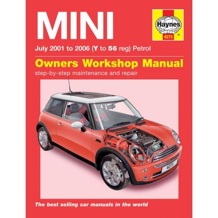 MINI Petrol Y to 56 07/01-06 Revue technique Haynes MINI Anglais