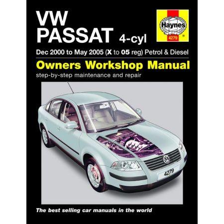 Passat Petrol Die 00-05 Revue technique Haynes VW Anglais