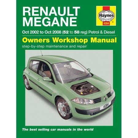 Megane Petrol Diesel 02-08 Revue technique Haynes RENAULT Anglais
